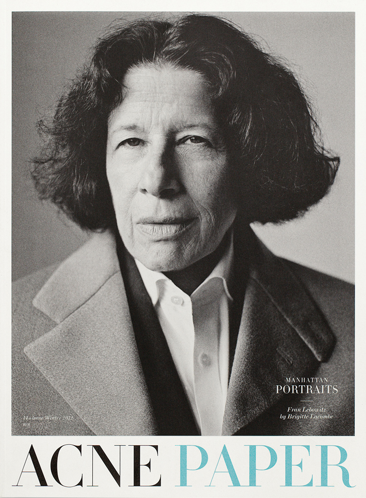 fran lebowitz essay race Fran lebowitz recommends the writers who best 'the authors of these five books are people who came to wrote an essay about her for the new.