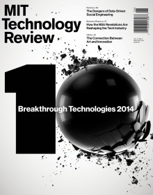 MITTECHNOLOGYREVIEW2014mayo